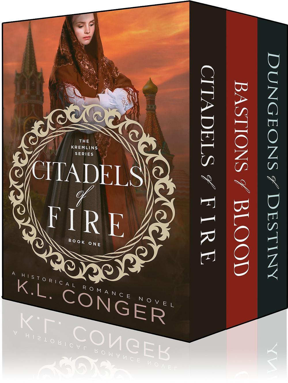Kremlins, Russia, Historical Fiction, Historical Romance, K.L. Conger