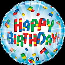 Happy Birthday Exploding Blocks