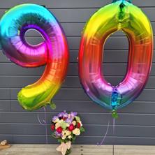 Helium rainbow numbers
