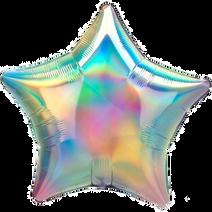 Star iridescent rainbow