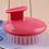Thumbnail: Shampoo Brush Hair Scalp Massager Shower Bath Massage Brush Comb Manual Head Mas