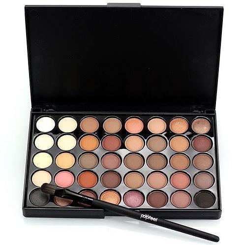 Banggood 40 Colors Mini Eye Shadow Palette Set Kit Glitter Shimmer Cosmetic Port