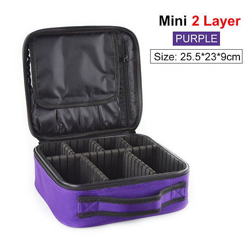 New Cosmetic Bag Cases for Women Female Oxford Waterproof Upgraded Version Cosme