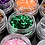 Thumbnail: 12 colors Hexagon Glitter powder1mm Set for 3D nail Art