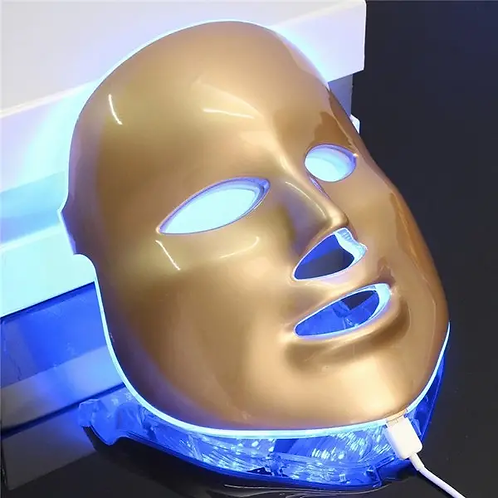 Photon LED Facial Mask Skin Rejuvenation Therapy Face Massage Skin Care 3 Colors