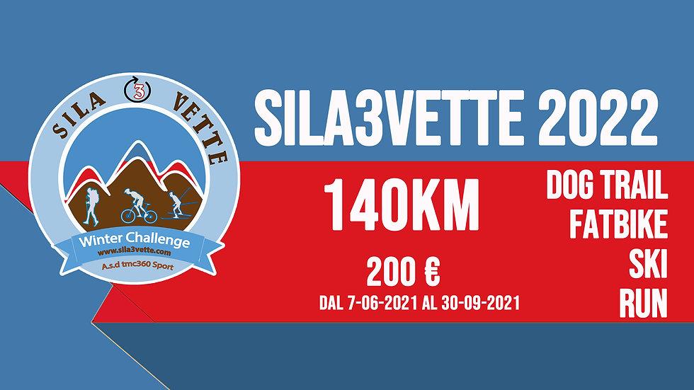 Sila3Vette 2022 - versione 140km