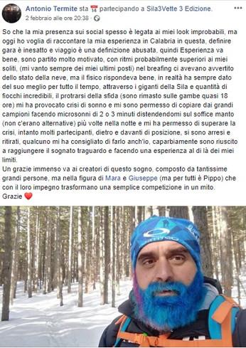 Antonio Termite parla di Sila3Vette