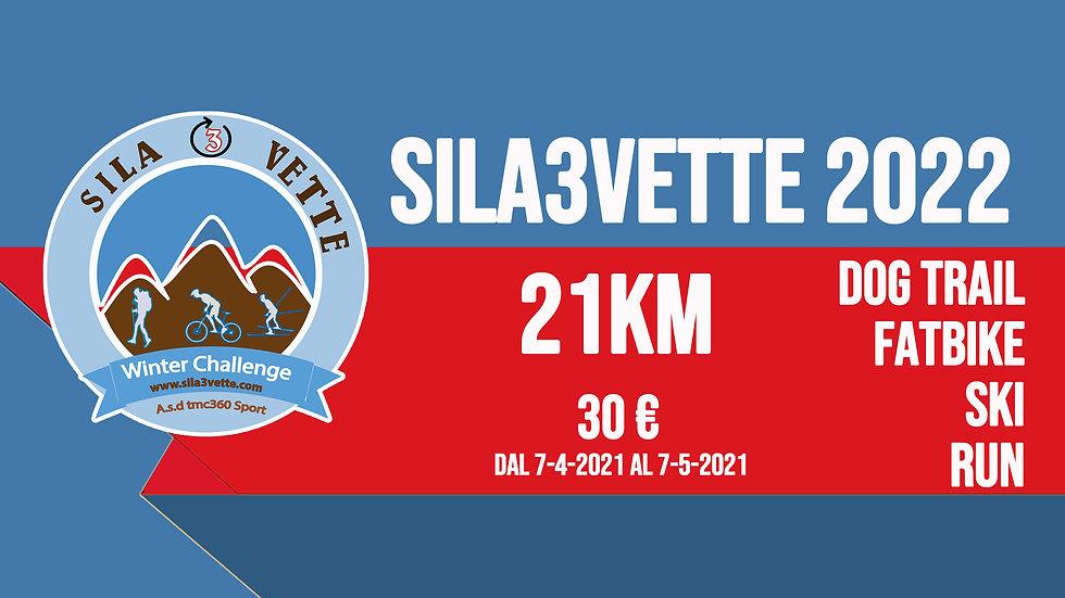 Sila3Vette 2022 - versione 21km