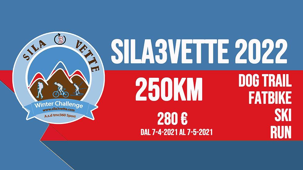 Sila3Vette 2022 - versione 250km