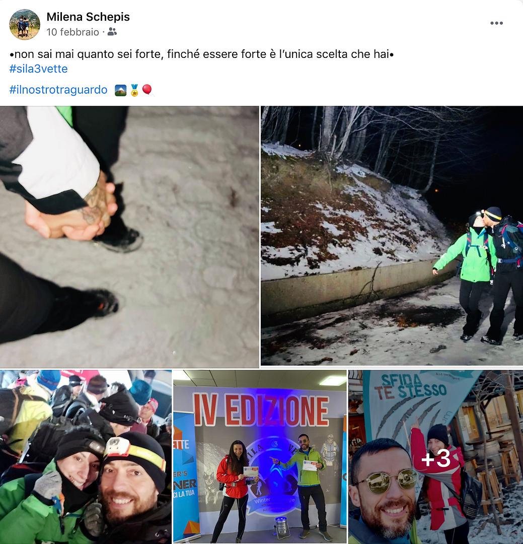 Testimonianze da Facebook