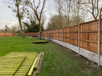 Large fencing job in Ware