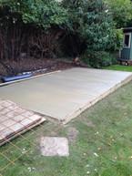 Base for garden building