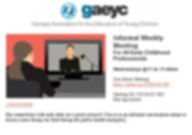 GAEYC weekly meeting.JPG