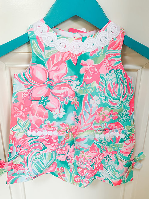 Baby Lilly Classic Shift Dress w Bloomers Multi Hot on the Scene