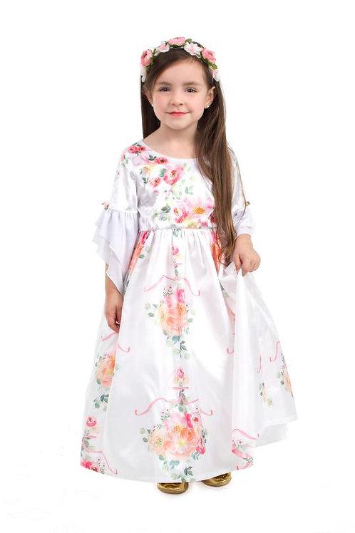 White Floral Beauty Princess