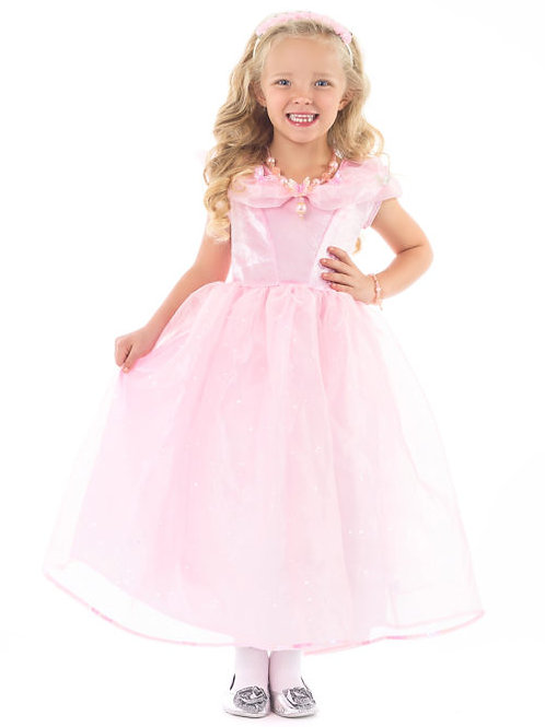 Deluxe Cinderella Butterfly Pink Dress