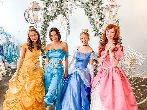 Princess Christmas Carols with Cinderella, Belle, Ariel, and Jasmine