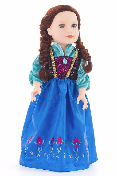 "18"" Doll Scandinavian Princess Outfit"