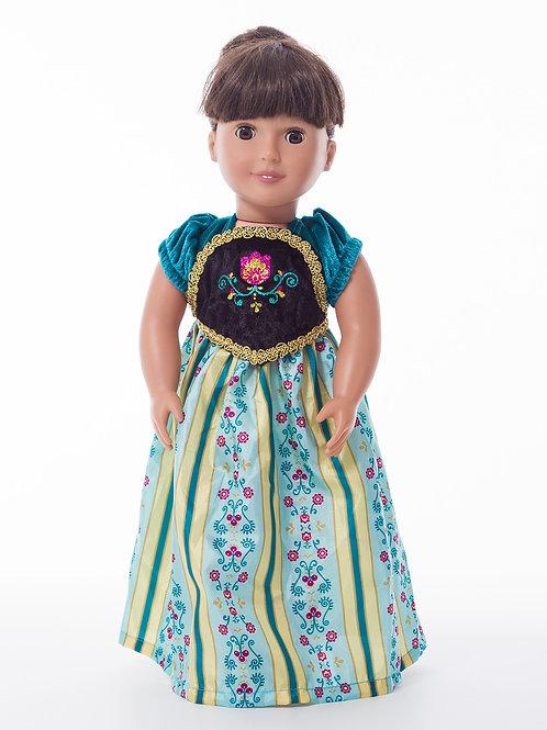 "18"" Doll Scandinavian Princess Coronation"