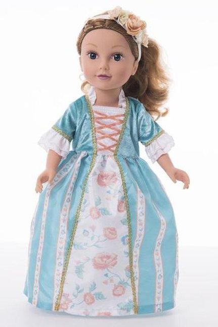 "18"" Doll Ava Princess Dress"