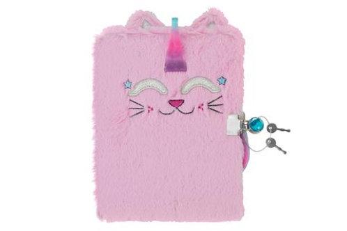 Caticorn Fuzzy Diary and Marabou Pen