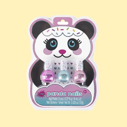 Panda Nail Polish Set