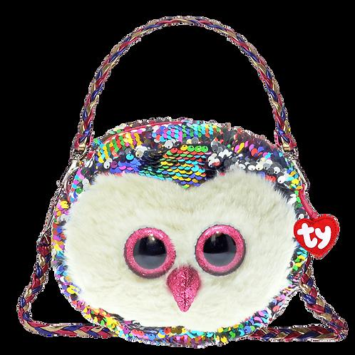Owen Owl Sequin Fashion Purse