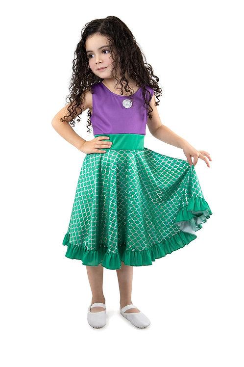 Mermaid Twirl Dress