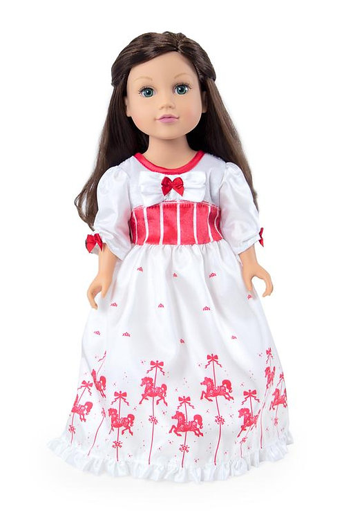 "18"" Doll English Nanny Dress"