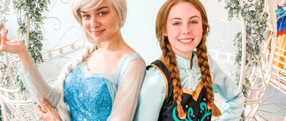 Private Frozen Camp Event with Elsa and Anna