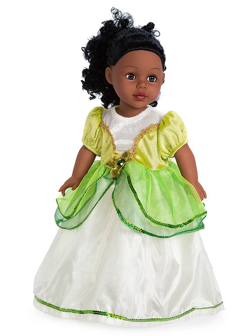 """18"""" Doll Lily Pad Princess Gown"""