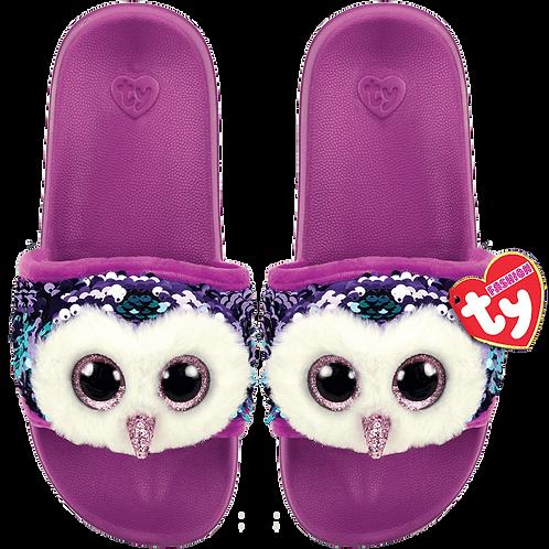 Sequin Owl Slides
