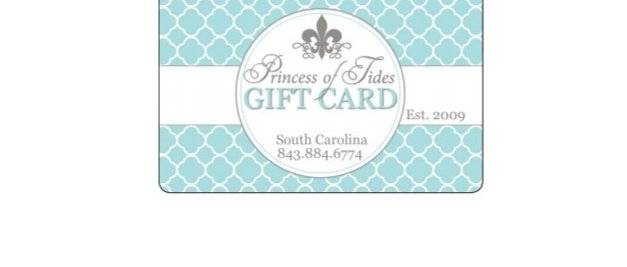 Princess of Tides Gift Card