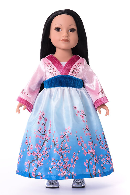 "18"" Doll Asian Princess Outfit"