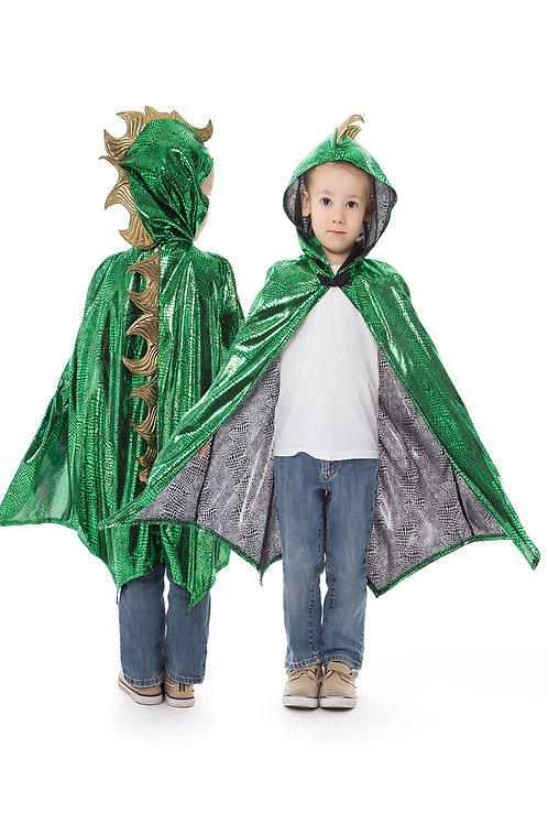 Dragon Cloak Green / Gold