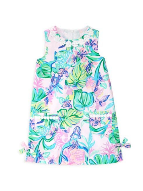 Little Lilly Classic Shift Dress Amethyst Tint Mermaid in The Shade