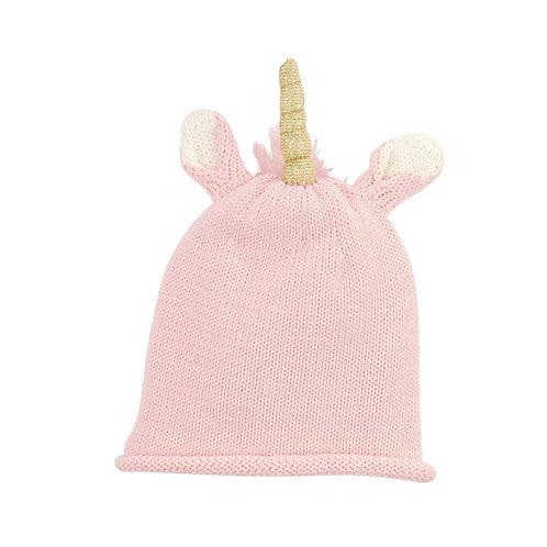 Unicorn Hat Pink Size 6-18M