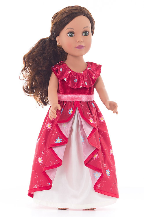 "18"" Doll Spanish Princess Outfit"