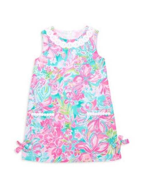 Little Lilly Classic Shift Dress Multi Hot on the Scene
