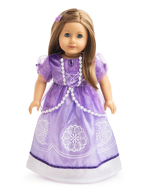 """18"""" Doll Amulet Princess Gown"""