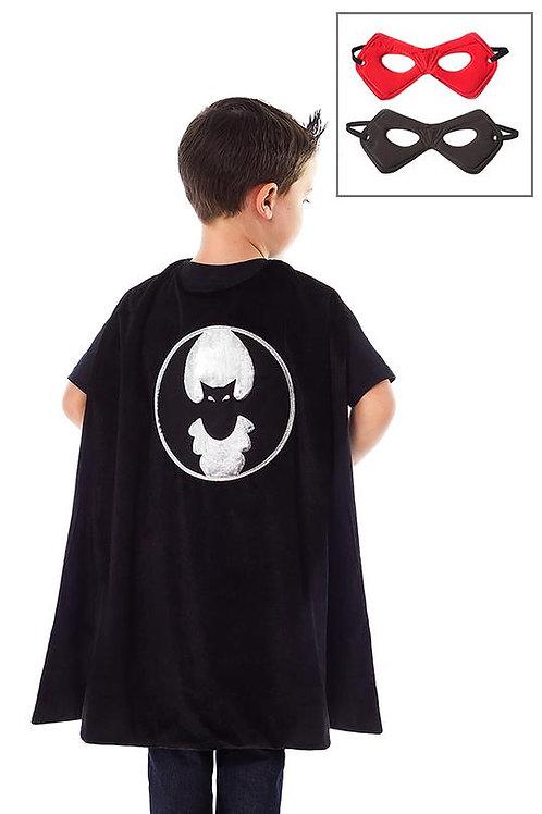 Bat Cape and Mask Set