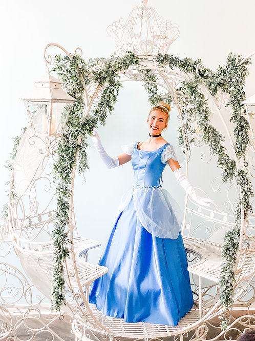 Private Tea with Cinderella in Carriage