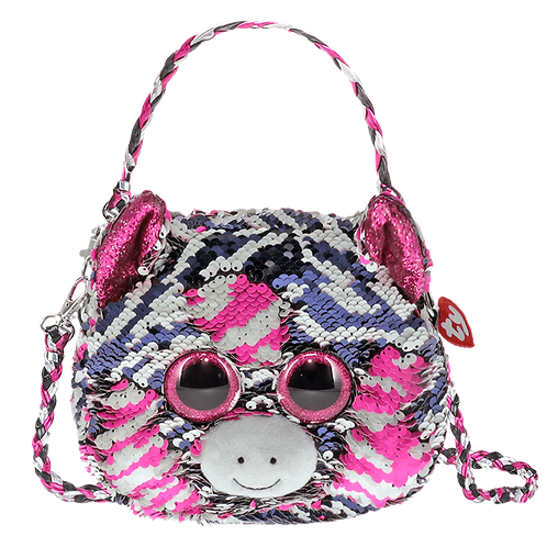 Zoey Zebra Sequin Fashion Purse