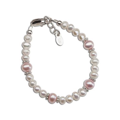 Addie ~ Sterling Silver Pearl Bracelet