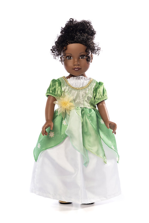 "18"" Doll Classic Lily Pad Princess Gown"