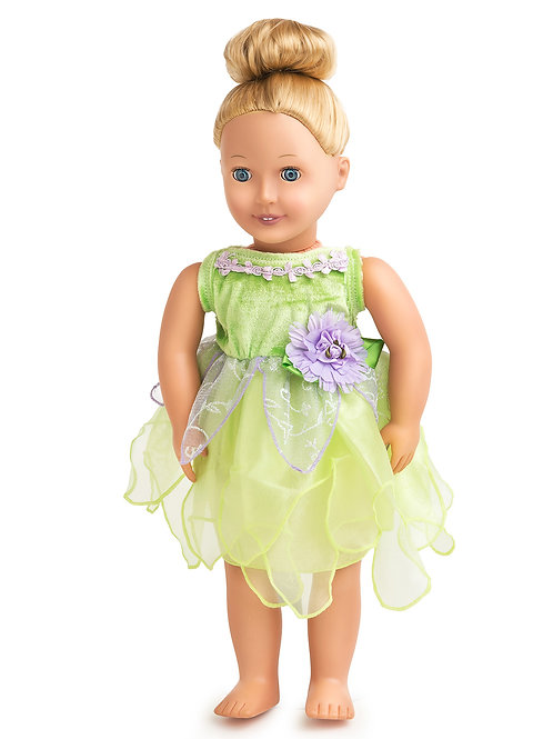 """18"""" Doll Tinkerbell Fairy Outfit"""