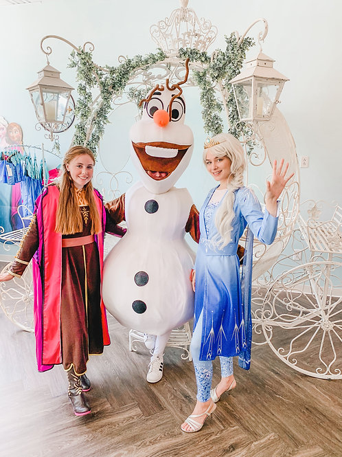 Winter Wonderland Holiday Sing-a-long and Dessert with Elsa, Anna & Olaf