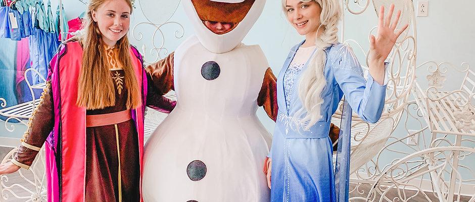 Winter Wonderland Holiday Sing-a-long with Elsa, Anna & Olaf