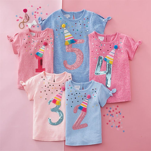 Birthday Number Shirt