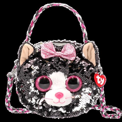 Kiki Cat Sequin Fashion Purse